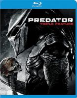 Cover image for Predator 3-movie collection.