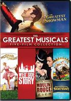 Cover image for The greatest musicals five-film collection.