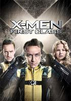 Cover image for X-men first class