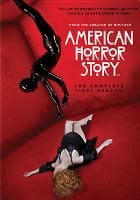 Cover image for American horror story the complete first season.