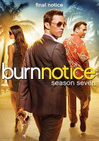 Cover image for Burn notice Season seven