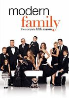 Cover image for Modern family the complete fifth season