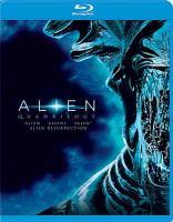 Cover image for Alien quadrilogy Alien, Aliens, Alien 3, Alien Resurrection.