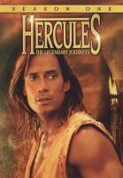 Cover image for Hercules, the legendary journeys Season one