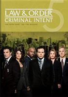 Imagen de portada para Law & order, criminal intent The fifth year, '05-'06 season