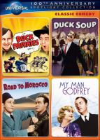 Cover image for Classic comedy spotlight collection