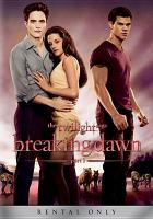 Cover image for Breaking dawn Part 1