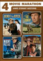 Cover image for James Stewart westerns 4 movie marathon