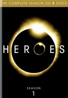 Cover image for Heroes. Season 1