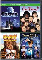 Cover image for Casper The little rascals ; Harry and the Hendersons ; Nanny McPhee : four feature films
