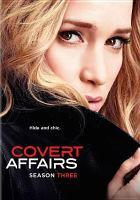 Cover image for Covert affairs Season three