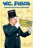 Cover image for Comedy favorites collection W.C. Fields