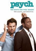 Cover image for Psych The complete eighth season.