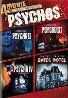 Cover image for Psychos 4 movie midnight marathon pack