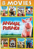 Cover image for Animal friends 8 movies.