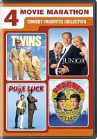 Cover image for 4 movie marathon Comedy favorites collection.