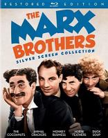 Cover image for The Marx Brothers silver screen collection