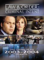 Imagen de portada para Law & order, criminal intent The third year, 2003-2004 season