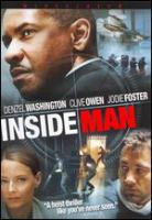 Cover image for Inside man