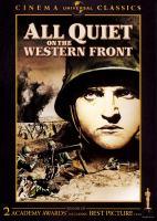 Imagen de portada para All quiet on the western front