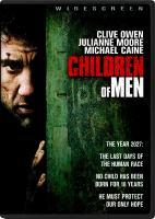 Cover image for Children of men