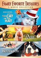 Cover image for The cat in the hat ; Babe ; Beethoven