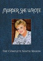 Cover image for Murder, she wrote The complete ninth season