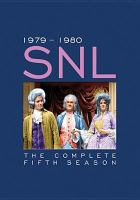Cover image for Saturday night live The complete fifth season