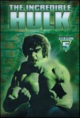 Cover image for The Incredible Hulk. The complete fifth season