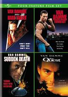 Cover image for Quadruple feature Van Damme fight pack.