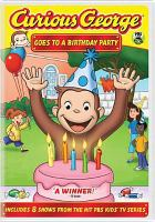 Cover image for Curious George goes to a birthday party
