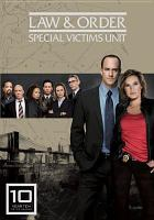 Cover image for Law & order, Special Victims Unit Year 10, '08/'09 season