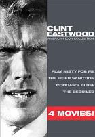 Cover image for Clint Eastwood American icon collection.