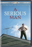 Cover image for A serious man