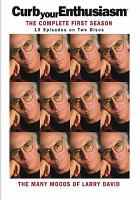 Cover image for Curb your enthusiasm The complete first season