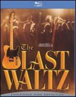 Cover image for The last waltz