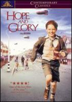 Cover image for Hope and glory