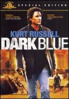 Cover image for Dark blue