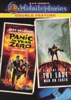 Imagen de portada para Panic in year zero! ; The Last man on earth