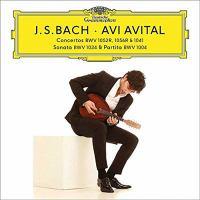Cover image for Concertos BWV 1052R, 1056R & 1041 Sonata BWV 1034 ; &, Partita BWV 1004