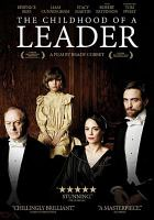 Cover image for The childhood of a leader