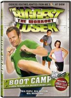 Cover image for The biggest loser, the workout. Boot camp