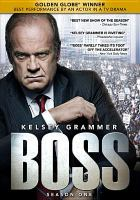 Cover image for Boss. Season one