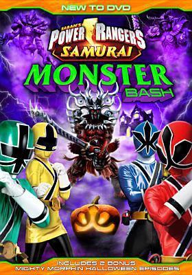 Cover image for Power rangers samurai. Monster bash