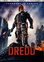 Cover image for Dredd