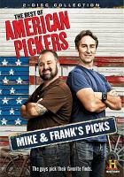 Cover image for The best of American pickers Mike & Frank's picks