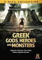Cover image for Greek gods, heroes and monsters