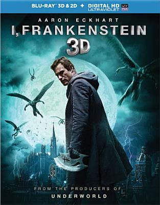 Cover image for I, Frankenstein 3D