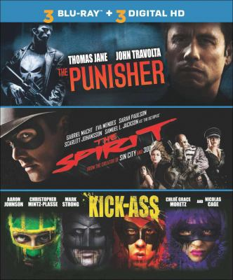 Cover image for The Punisher ; The Spirit ; Kick-ass