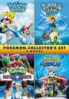 Cover image for Pokémon collector's set 4 movies.